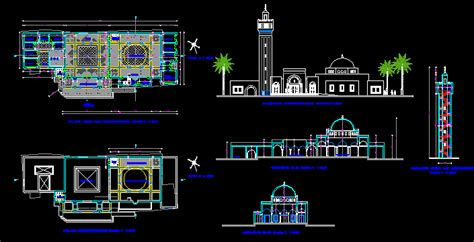 Turkish Mosque DWG Block for AutoCAD • Designs CAD