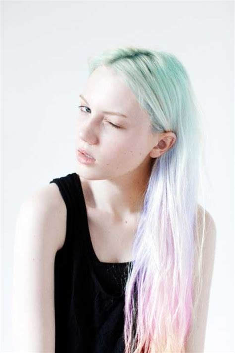 30 Rainbow Colored Hairstyles to Try - Pretty Designs