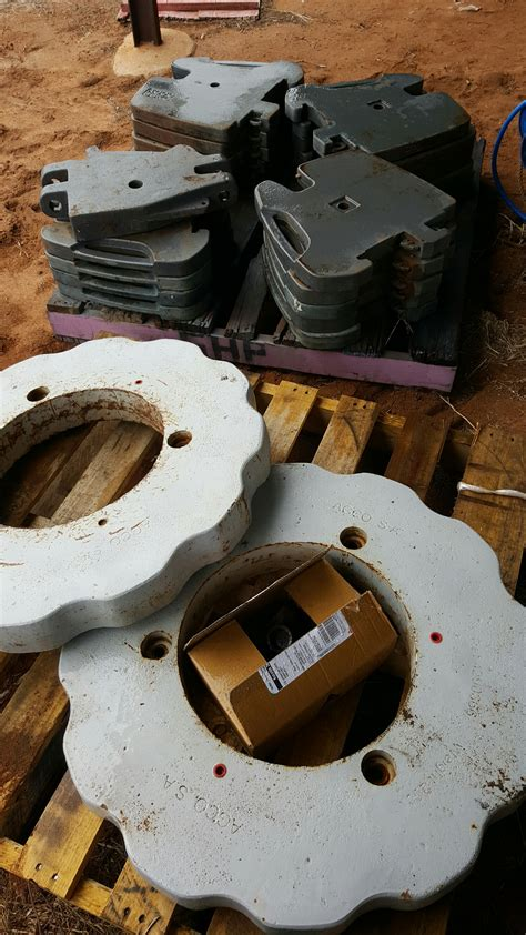 Tractor front weights and wheel weights | Machinery