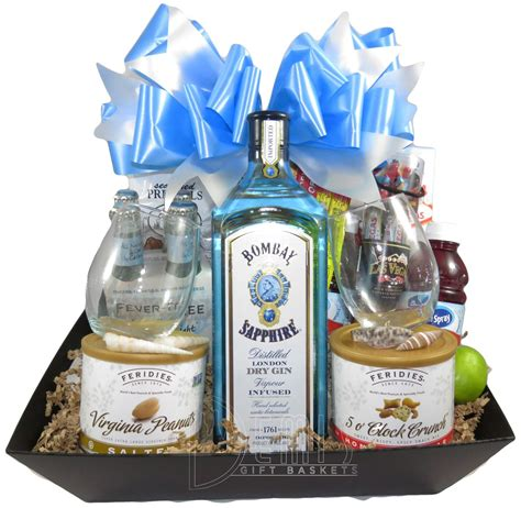 Bombay Sapphire Dry Gin basket   Baskets By Price 2