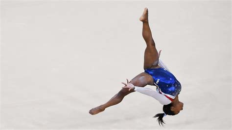 Stunning Floor Routine Gives Simone Biles the Gold Medal