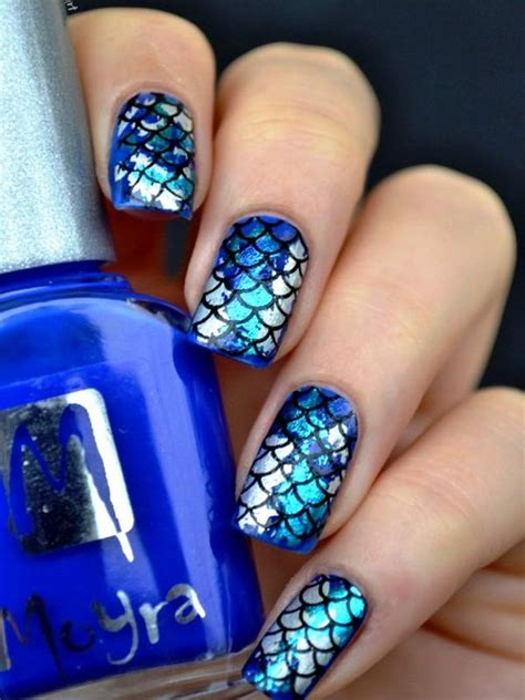 Would You Like To Get These Foil Nail Arts?