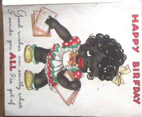 Racist Greeting Card Collecting – Inherited Values