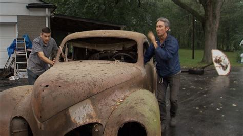 American Pickers on The History Channel - Lincoln Zephyr