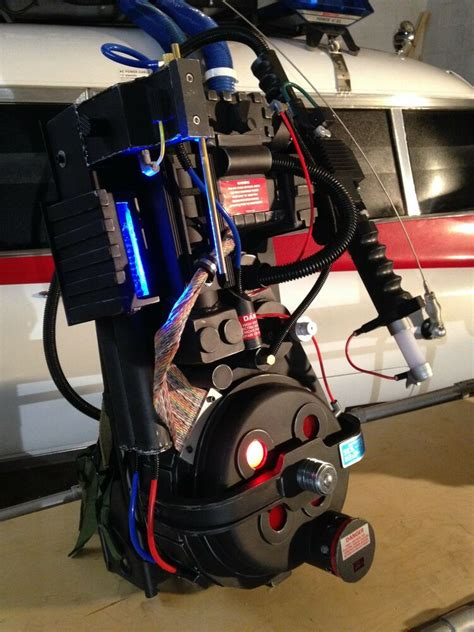 Ghostbusters Proton Pack Replica with Mattel Wand - Lights