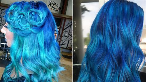 Ocean-Blue Hair Colors Are Making Waves on Instagram This