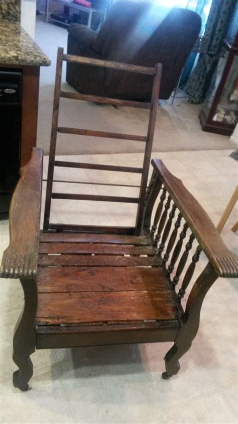 """I Have A """"Morris Chair"""" With Wheels"""