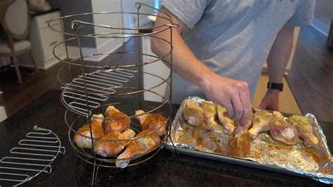 How To Cook Chicken Legs On The Char-Broil Big Easy
