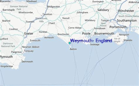 Weymouth, England Tide Station Location Guide