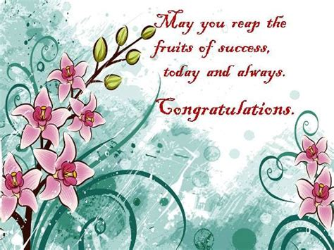 Wishes On Loved One's Achievement