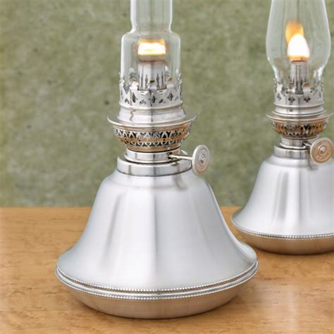 """Danforth Pewter """"Cornwall"""" Oil Lamp - The Source for Oil"""