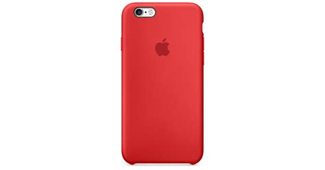 iPhone 6s Silicone Case - (PRODUCT)RED - Apple