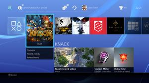 PlayStation 4 system software - Wikipedia
