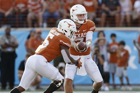 The 2019 Texas Football Schedule Finalized - Barking Carnival
