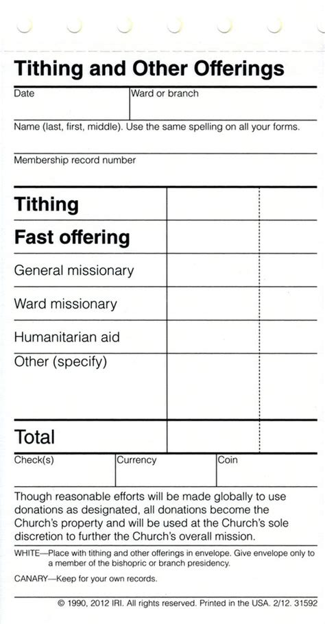 Next time Mormons pay tithing, they may notice something
