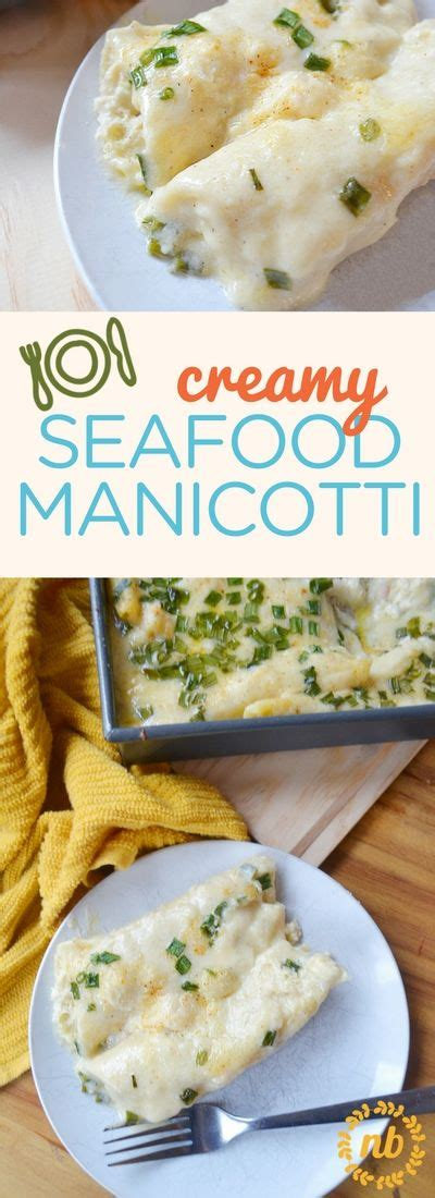 This creamy seafood manicotti is the stuff legends are
