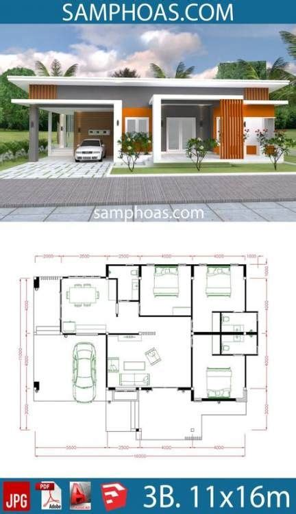 64+ Trendy Bungalow House Plans Small Beautiful in 2020