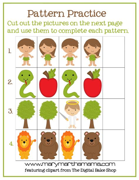 Adam & Eve Story for Kids [Free Printable Activities