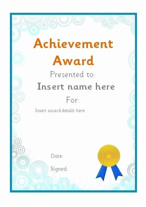 Volunteer Of the Month Certificate Template Inspirational
