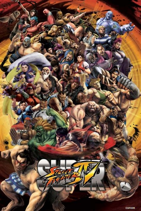 Street Fighter posters - Super Street Fighter IV poster