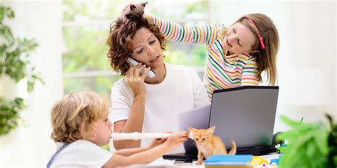 Distance Learning With Multiple Children During COVID-19
