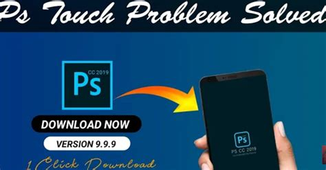 Adobe Photoshop Touch Android 9 pie apk Crash fixed