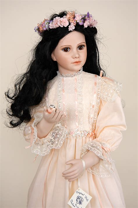 Song - porcelain soft body limited edition art doll by
