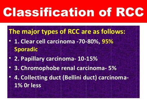 Renal cell carcinoma for students