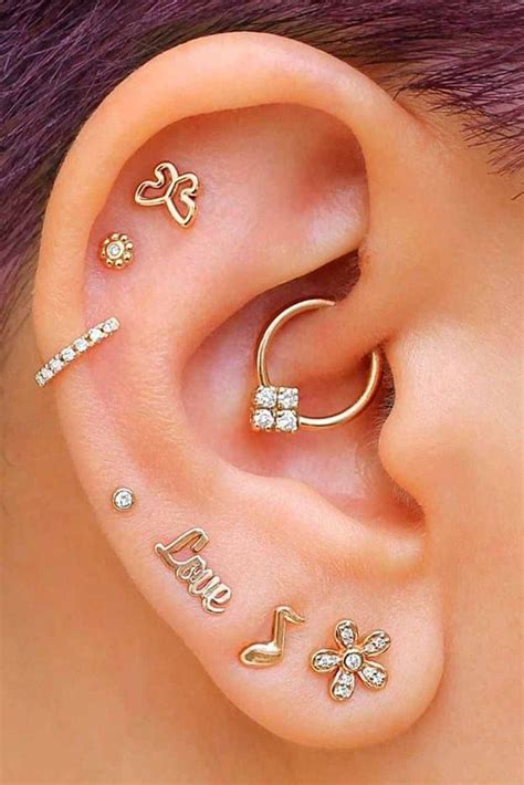 8 Most Popular Types Of Ear Piercings To Consider - Most