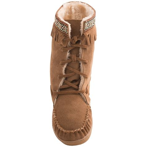 Grizzleez by Zigi Camper Moccasin Boots (For Women) 7959K