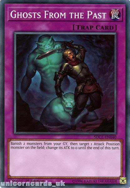 SDCL-EN040 Ghosts From the Past 1st Edition Mint YuGiOh